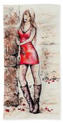 In A Moment Beach Towel