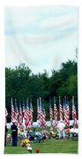 In Remembrance Of 9-11 Beach Towel
