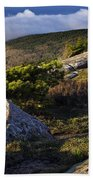 In The Clouds At Cadillac Beach Towel