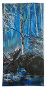 In The Still Of The Night Series 1 Beach Towel