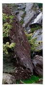 Inchquinn Waterfall, Beara Peninsula Beach Towel