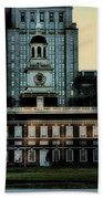 Independence Hall - The Cradle Of Liberty Beach Towel