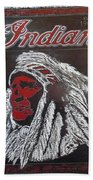Indian Motorcycles Beach Towel
