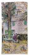 Indian Summer In Colonial Days Beach Towel by Childe Hassam