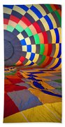 Inflating Beach Towel by Rick Berk