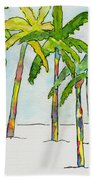 Inked Palms Beach Towel