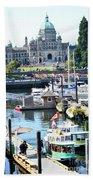 Inner Harbour4 Beach Towel