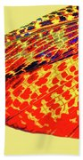 Insect Wing Study Beach Towel