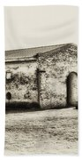 Inside Fort Mifflin - Phildalphia Beach Towel