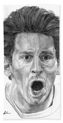 Intensity Lionel Messi Beach Towel