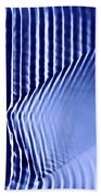 Interference Waves Beach Towel