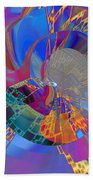 Into The Inner World Beach Towel