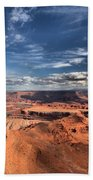 Into The Sky Beach Towel