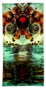 Invasion Beach Towel