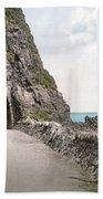 Ireland: Black Cave Tunnel Beach Towel