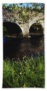 Ireland Bridge Over Water Beach Towel