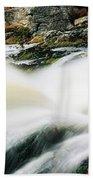 Ireland Waterfall Beach Towel