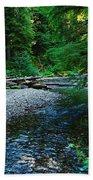 Iron Creek  Beach Towel