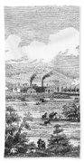 Iron Works, 1855 Beach Towel