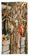 Isoms Orchard In Fall Regalia Beach Towel