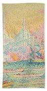 Istanbul Beach Towel by Paul Signac
