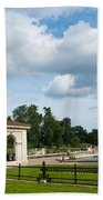 Italian Gardens London Beach Towel