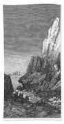 Italy: Earthquake, 1856 Beach Towel