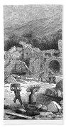 Italy: Earthquake, 1881 Beach Towel