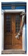 Italy Old Door Beach Towel by Joana Kruse