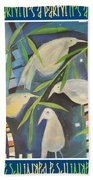 Its A Party Poster Image Beach Towel