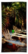 Its Margarita Time In Paradise Beach Towel by Susanne Van Hulst