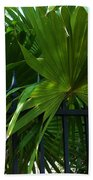 Its Pretty And Tropical In Key West  Beach Towel