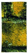 Ivy And Old Wall Beach Towel