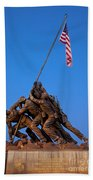 Iwo Jima Memorial Beach Towel
