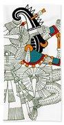 Iztlacoliuhqui, Aztec God Of Frost Beach Towel