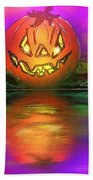 Jack And Friends By The Waters Edge Beach Towel