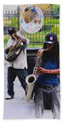 Jackson Square Jazz Beach Sheet