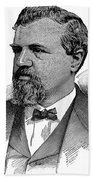 James Clair Flood (1826-1889) Beach Towel