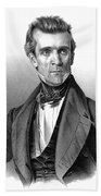 James Polk, 11th American President Beach Towel by Photo Researchers