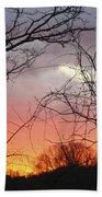 January Sunrise 5 Beach Towel