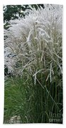 Japanese Silver Grass Full Height Beach Towel
