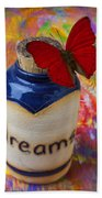 Jar Of Dreams Beach Towel