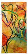 Jazz-funk Beach Towel