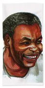 Jean Pierre Dikongue Pipa Beach Towel