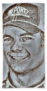 Jeff Gordon In 2010 Beach Sheet