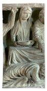 Jesus And Mary Magdalene Beach Towel