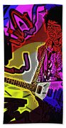 Jimi Hendrix Number 22 Beach Towel