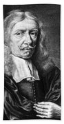 Johannes Hevelius, Polish Astronomer Beach Towel by Science Source