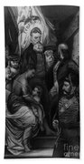 John Brown Meeting Slave Mother Beach Towel by Photo Researchers