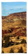 John Day Blue Basin Beach Towel